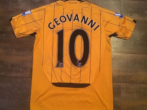 2009 2010 Hull City Geovanni Home Football Shirt Small